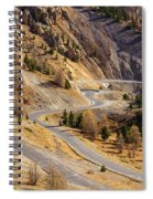 The Road To Izoard Pass - 2 - French Alps Spiral Notebook