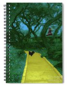 The Road To Oz Spiral Notebook