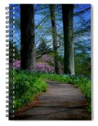 The Road To Peace And Quiet Spiral Notebook