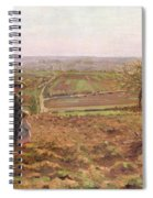 The Road To Rouen Spiral Notebook