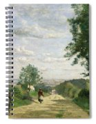 The Road To Sevres Spiral Notebook