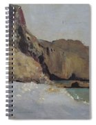 The Rocks At Vallieres Spiral Notebook