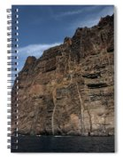 The Rocks Of Los Gigantes 1 Spiral Notebook