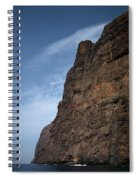 The Rocks Of Los Gigantes 2 Spiral Notebook