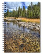 The Rocks Of Rock Creek Spiral Notebook