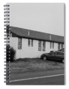 The Rolling Stones' Memory Motel Montauk New York Spiral Notebook