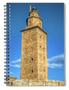 The Roman Lighthouse Known As Tower Of Hercules Spiral Notebook