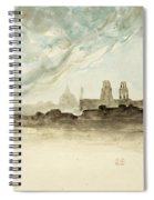 The Roofs Of Paris Spiral Notebook