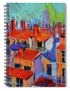 The Rooftops Spiral Notebook