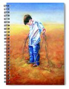 The Roping Lesson Spiral Notebook
