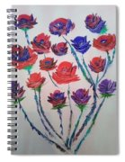 The Rose Series Spiral Notebook