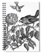 The Roses And The Sparrow Spiral Notebook
