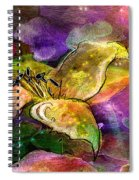 The Roses In The Sheep Dream Spiral Notebook