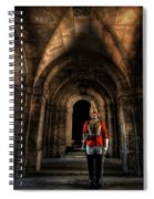 The Royal Horse Guard   Spiral Notebook