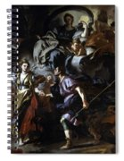 The Royal Hunt Of Dido And Aeneas Spiral Notebook