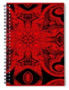 The Royal Red Crest Spiral Notebook
