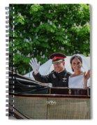 The Royal Wedding Harry Meghan Spiral Notebook