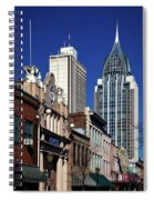 The Rsa Tower - Mobile Alabama Spiral Notebook