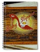 The Ruby Slipper Spiral Notebook
