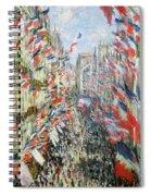 The Rue Montorgueil Spiral Notebook