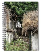 The Ruined Cottage Spiral Notebook