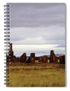 The Ruins Of Fort Union Spiral Notebook
