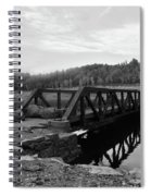 The Rusted Bridge Spiral Notebook