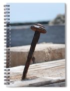 The Rusted Spike Spiral Notebook