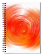 The Sacral Chakra - Orange Spiral Notebook