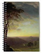 The Sacramento River Valley  Spiral Notebook