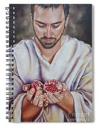 The Sacrifice Of Jesus Spiral Notebook