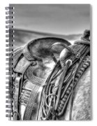 The Saddle Bw  Spiral Notebook