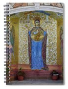 The Saints Are Waiting By The Parking Place Spiral Notebook