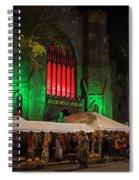 The Salem Witch Museum Halloween Weekend Salem Ma Spiral Notebook