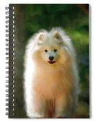 The Samoyed Smile Spiral Notebook