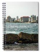 The San Juan Puerto Rico Cityscape Spiral Notebook