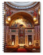 The Sanctuary Of Saint Matthew's Cathedral Spiral Notebook