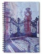 The Sant Pau Gates Spiral Notebook