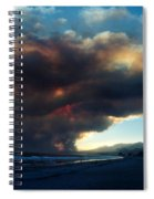 The Santa Barbara Fire Spiral Notebook