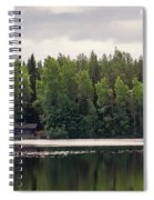 The Sauna Of Kintulammi Spiral Notebook