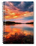 The Scenic Elbe Spiral Notebook