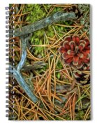 The Scent Of Pine Forest II Spiral Notebook