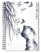 The Scent Of Spring Spiral Notebook