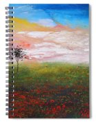 The Scented Sky Spiral Notebook