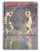 The Schloss Kammer On The Attersee IIi Spiral Notebook