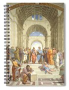 The School Of Athens, Raphael Spiral Notebook