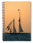 The Schooner America Spiral Notebook