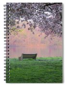 The Schuykill River At Kelly Drive In The Spring Spiral Notebook