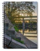 The Schuylkill Steps - East Falls - Philadelphia Spiral Notebook