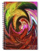 The Scream Spiral Notebook